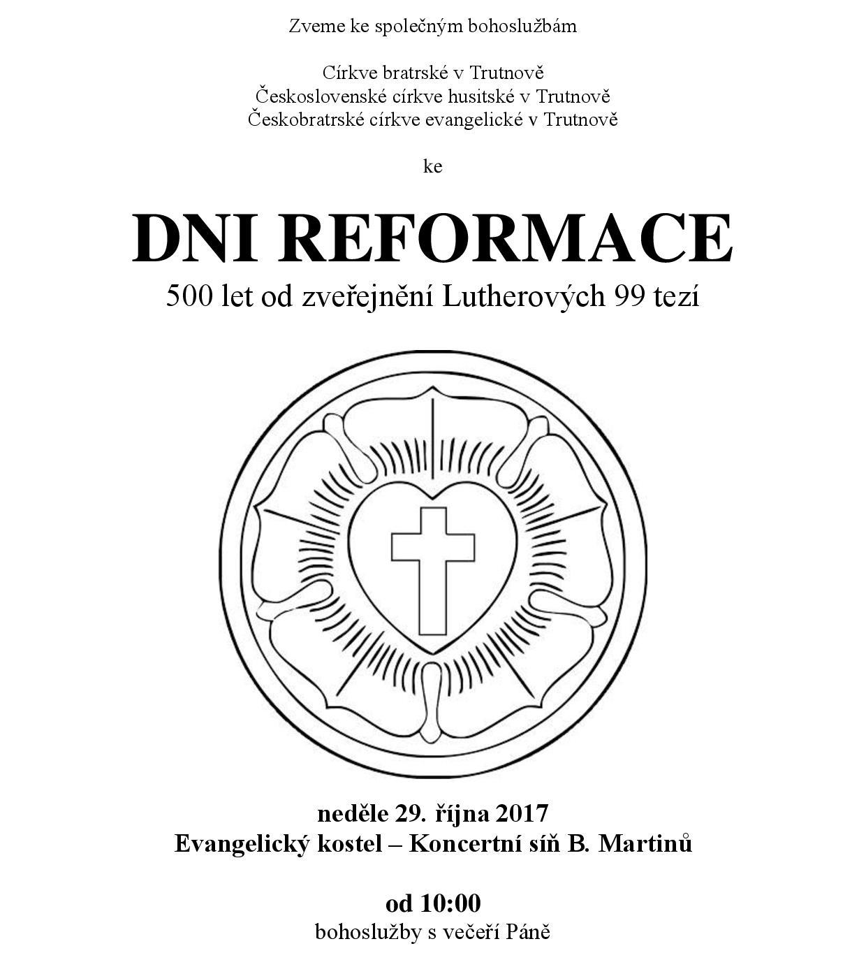 Den reformace Trutnov