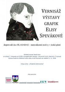 Vernisáž výstavy grafik Elisy Spevákové